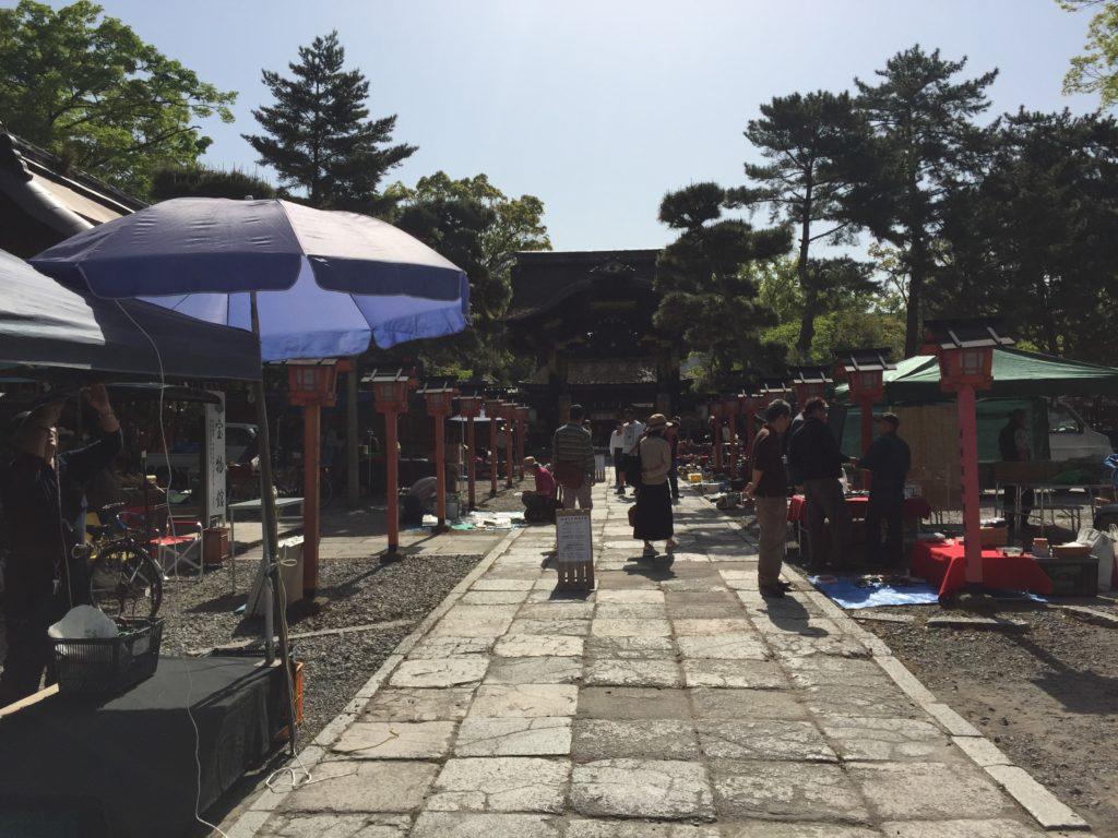 京都 豊国神社 骨董・ガラクタ市